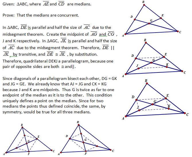 High School Geometry Common Core G10 Proof Triangles
