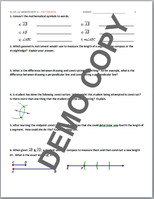 Carpentry Math Worksheets mathematics for carpentry and the – Construction Math Worksheets