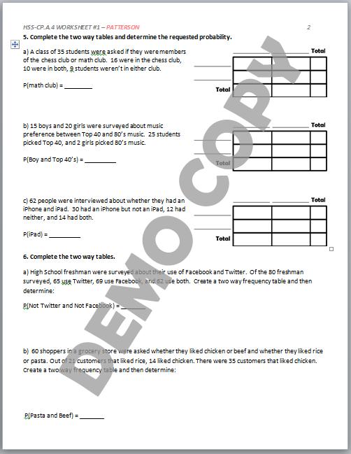 probability math worksheet three bo probability best free printable worksheets. Black Bedroom Furniture Sets. Home Design Ideas