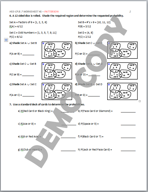 Cute High School Geometry Worksheets With Answers Ideas - Math ...